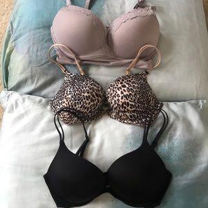 Bundle of Victoria Secret Very Sexy push up bra